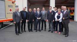 Neue Rettungswache des Roten Kreuzes übergeben - 2 Mio. Euro Investition