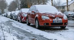 Achtung Autofahrer: Freitag kommt Schnee und Glätte