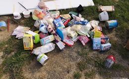 Bürgermeister Dieter Kolb erklärt Müllbeseitigung spontanzur Chefsache