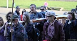 Über 1.000 glückliche Pilger: Ankunft im Dom nach über 40 Kilometern