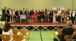 Abschied an der Konrad-Adenauer-Schule: 131 erfolgreiche Realschulabsolventen