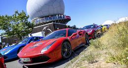 Am Wochenende parken wieder 40.000 Ferrari-PS in Fulda