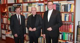 Bischof Hein zu Besuch bei Bischof em. Algermissen