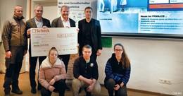 Förderung von Jugendlichen: Primajob spendet 2.000 Euro an Perspektiva