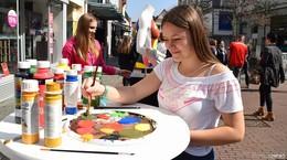 Bad Hersfeld treibt es bunt mit vielfältiger Straßenkunst