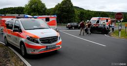 Unfall am Freibad: Vier Leichtverletzte - darunter ein Säugling