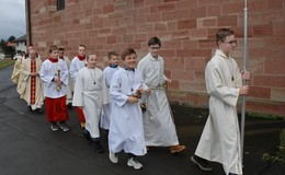 Nachprimiz-Messe mit Pater Arnes Sohshang