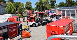 Einblick beim Tag der offenen Tür: bei der Feuerwehr ist kein Tag wie der andere