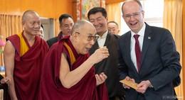 Michael Brand (CDU) beim Dalai Lama: Die Welt darf Tibet nicht vergessen