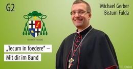 Neuer Bischof Michael Gerber macht das Bischofsquartett wieder komplett