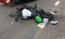 Zwei Verletzte: Erneut nimmt Pkw einem Motorrad die Vorfahrt