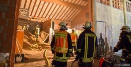 Brand in Hackschnitzellage in Wisselsrod - Rund 500 Euro Schaden