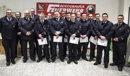 Nachwuchsarbeit zahlt sich aus: Feuerwehr gut aufgestellt - 62 Einsätze