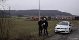 Straßenbeleuchtung in Ausbach und Ransbach wurde modernisiert