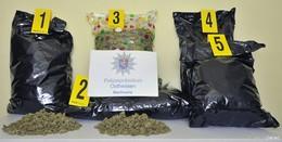 Verfolgungsjagd mit 190 Stundenkilometern - 18 Kilogramm Marihuana