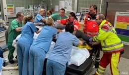 Katastrophenschutzübung: Positives Fazit der Krankenhauseinsatzleitung