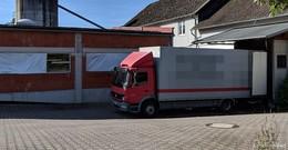 Traktor-Amokfahrt in Reulbach - Polizeieinsatz - 200.000 Euro Schaden