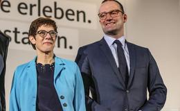 Doch nicht Spahn! - Kramp-Karrenbauer soll Verteidigungsministerin werden