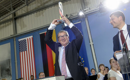 EU-Kommissionspräsident Jean-Claude Juncker erhält Point-Alpha-Preis