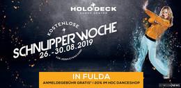 Holodeck Dance Center lädt zum Schnuppern ein