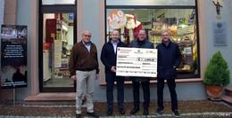 Firma Bergeon spendet 1.000 Euro an Barbarossakinder
