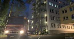 Die Freiwillige Feuerwehr und die Kollegen aus Garitz übten am St. Elisabeth