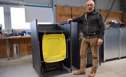 Müllentsorgung hygienisch und sauber: Erich Neulands Erfindung kommt an