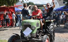 Sechstes Treffen der Traktorfreunde Niederkalbach ein voller Erfolg