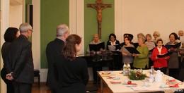 Der CaritasChor 65+ ist aus der Caritas-Familie nicht mehr wegzudenken