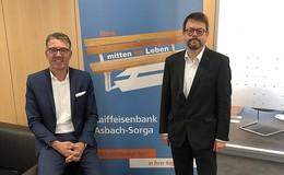 Raiffeisenbanken Asbach-Sorga und Burghaun planen Fusion