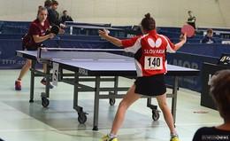 Tischtennis-Talent Sarah Rau spielt für Deutschland
