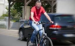 Peter Schieche kümmert sich um die Anliegen von Radlern und Fußgängern