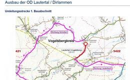 Vollsperrung der Hopfmannsfelder Straße ab Donnerstag