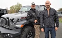 Neuer Jeep Wrangler bei Autohaus Jakob: Action auf dem Messegelände