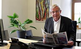 Jetzt ist es offiziell: Bürgermeister Dieter Kolb will nicht mehr