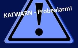 Katwarn-Probealarm am heutigen Mittwoch um 10.30 Uhr - Keine Gefahr