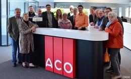 Carsten Wiegand begrüßt Bekenntnis von ACO zum Standort Philippsthal