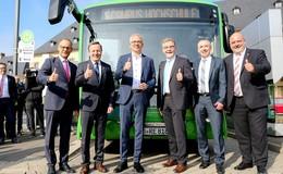 Sauber, leise, zukunftsweisend: RhönEnergie Fulda startet ersten Elektro-Bus