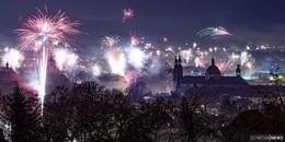 Farbenfroher Start ins neue Jahr - Fotos aus Fulda und aus aller Welt (46)