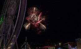 Funkelndes Feuerwerk begeistert Schützenfestbesucher