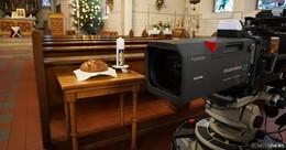 ZDF hat Gottesdienst live aus der Pfarrkirche Sankt Georg übertragen