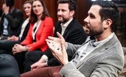 Wenn junge Bürgermeister netzwerken: Daniel Iliev tauscht sich in Berlin aus