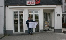 Umbau läuft: Aus Bäckerei Jäger wird Brandaus Backstube