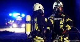 Topf mit Öl fängt Feuer - Kind wird dabei verletzt