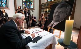 Bundespräsident Frank-Walter Steinmeier besucht Witwe von Walter Lübcke