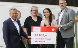 13.000 Euro für ein neues Spiel- und Klettergerüst