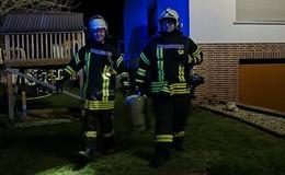 Gasflasche brennt in Leimbach - Keine Verletzten